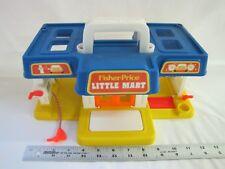Vintage Fisher Price Little People LITTLE MART CAR WASH #2580 1986 Excellent!