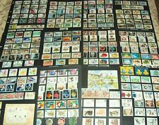 GB  1982-90 Almost COMPLETE COMMEMORATIVE STAMP Collection Used F624