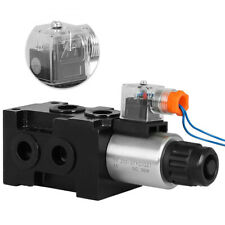 12 Volt Dc 13 Gpm Hsv6 C Hydraulic Solenoid Operated Selector Diverter Valve