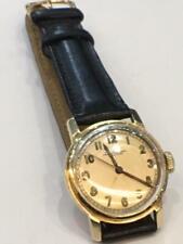 Vintage Jules Jurgensen 14K gold Watch 1950's mechanical 28mm