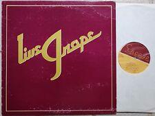 Moby Grape – Live Grape (1978) LP Escape ESAIA  feat. Skip Spence  US-Pressing