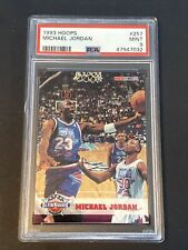 1993-94 Hoops #257 Michael Jordan PSA 9 Chicago Bulls