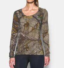 Under Armour Threadborne Early season camo hunting shirt WOMEN'S small NEW w tag