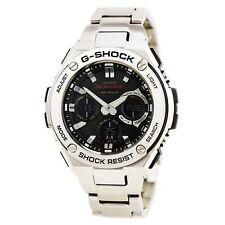 Casio G-SHOCK GSTS110D-1A G-STEEL Tough Solar Analog Digital Men's Watch