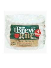 Coffee Maker Cupcake Style 4-Cup Filter 200 Count 47-201