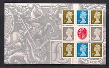 2010 GB QE2 DX50 adhesión Rey George V Sello Conmemorativo folleto panel U2917A