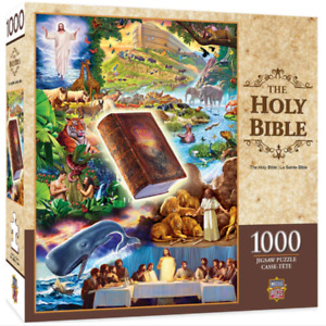 Holy Bible 1000 piece jigsaw puzzle 680mm x 489mm (mpc)