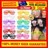 Plastic Shutter Shades Party Glasses Fashion Sunglasses Club Shades NYE Rave