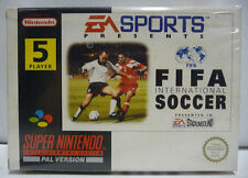 FIFA INTERNATIONAL SOCCER EA SPORTS - SNES SUPER NINTENDO PAL BOXED