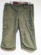 Arc'teryx Green Cotton Nylon Blend Outdoor Bermuda Short Women's Size 12