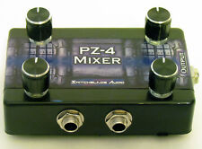 "4-Channel Passive Mixer PZ-4 - Compact 1/4"" Mono to 1/4"" Mono Switchblade Audio"