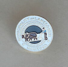 Municipality of Lansdowne Manitoba Industry is Wealth 1884 1984 Centennial PIn