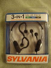 Sylvania Sylvania 3-IN-1 Headphone Value Pack Model  SYL-VP311