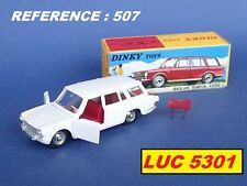 SIMCA 1500 BREAK BLANCHE #507 PAR DINKY TOYS / ATLAS