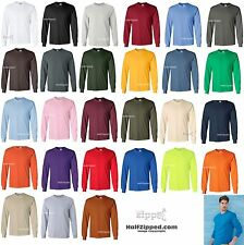 Gildan Ultra Cotton Long Sleeve T-Shirt 2400 S-5XL NEW
