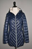 FRENCH CONNECTION NEW $200 Packable Drawstring Waist Puffer Coat Small