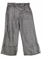 Lauren by Ralph Lauren Women's Pants Gray Size 12X24 Linen Blend $125 #513