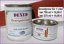 Braune nicht wasserverdünnbare Baugewerbe-Lacke