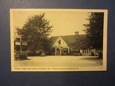 Old Vintage - Shady Lawn Tea Room / Restaurant - ATLANTA GA. - POSTCARD - Rt. 41