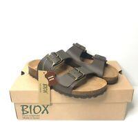 Biox Women's UK Size 7 Cork Mules Sandals Alex Made in Spain Foot Comfort - NEW