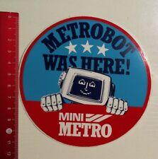 Aufkleber/Sticker: Mini Metro Metrobot (28031791)