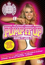 Ministry Of Sound Pump It Up Burn It Lose It Exercise Fitness DVD FREE SHIPPING