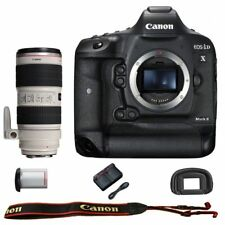 Canon EOS 1DX mark II DSLR Camera Body with EF 70-200mm f/2.8L IS II USM Lens