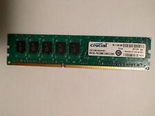 Crucial CT51272BA1339.M18FD 4GB 240 pin DIMM 512MX72 DDR3