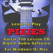 PIXIES Guitar Tab Lesson CD Software - 56 Songs