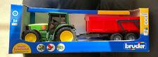 Bruder Toys 02057 John Deere 6920 Tractor + remolque basculante-Dirección de Trabajo