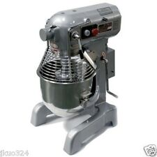 New Commercial 20 Qt Mixer with 3 S/S Attachments