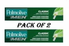 2 x Palmolive Classic Lather Shave Shaving Cream 100ml