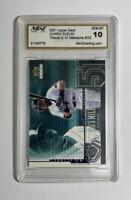 2001 Upper Deck ICHIRO SUZUKI Tribute to 51 Milestone #I22 - MINT 10 Gem Mint