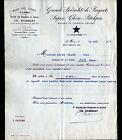 """LE HAVRE (76) CHANTIER & SCIERIE / BOIS du NORD & d'AMERIQUE """"Ch. HUMBERT"""" 1937"""