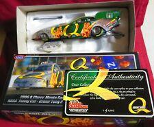 CRUZ PEDREGON, 1/24 20O6 RC AUTHENTICS FUNNY CAR, Q (QUAKER STATE)  1 OF 1,002