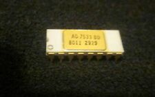 VINTAGE AD7533 BD CLEAN PULL SOME MINOR BENT GOLD PLATED PINS WHITE CERMAIC