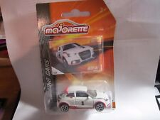 AUDI A1 * CHASE CAR * 2017 MAJORETTE TOYS R US EXCLUSIVE * RACING CARS WHITE