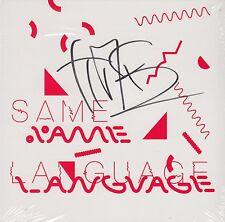 Tim Burgess & Peter Gordon - Same Language Different World [SIGNED CD] SEALED