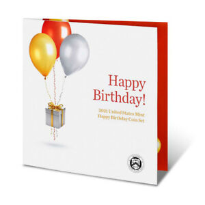 2021 S US Mint Happy Birthday Proof Coin Set (21RE)
