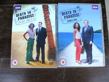 Death in Paradise - Series 1 2 DVD (5 discs) Set Collection - VGC