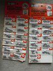 Lot of 22 Unopened Packs Vendor Display RC Parts Du Bro Spring Couplers #232 NIP