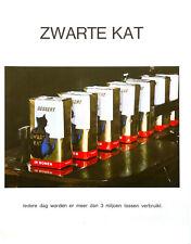 Publicité papier CAFE CHAT NOIR ZWARTE KAT 1972 P1026657