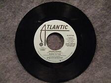 "45 RPM 7"" Record Robbie Patton Smiling Islands Atlantic Records Promo 7-89955"