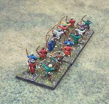 Fully Painted 15mm Feudal English Archers; Essex
