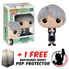 FUNKO POP THE GOLDEN GIRLS DOROTHY VINYL FIGURE + FREE POP PROTECTOR