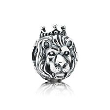Authentic Pandora Charm Sterling Silver 791377  KIing Of The Jungle