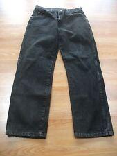 "EUC~Men's Wrangler Regular Fit 5 Pocket Black Jeans~31 x 29~Rise 11""~100% Cotton"