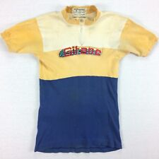 Vintage 60s Gitane Cycling Jersey Sz MEDIUM RARE Faded Distressed Bicycle Racing