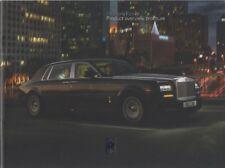 Rolls Royce Phantom Prospekt, 2013