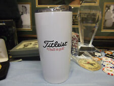COLLECTIBLE TITLEIST - YETI STYLE - HOT COLD BEVERAGE MUG TUMBLER - NEW - LOGO